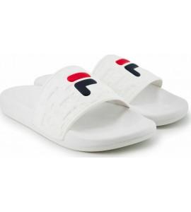 Fila Ανδρικές Παντόφλες Baywalk Slippers 1011200-1FG White Νεες παραλαβες