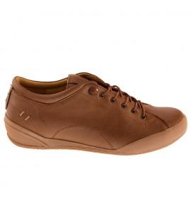 Safe step Γυναικεία ανατομικά δερμάτινα sneaker 18403 new nature Ανατομικα