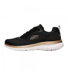 Skechers Mesh Lace Up 12606 bkrg Γυναικεια