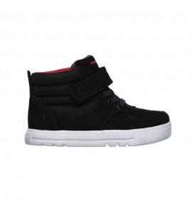 Skechers Lil Lad - Cozy Street Infant Junior Boy 96910N Μαύρο Ανατομικα