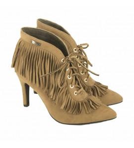 Verde Γυναικειο μποτάκι 28-0002318 camel