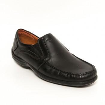 Boxer Ανδρικα loafers 15329 μαυρο Ανατομικα