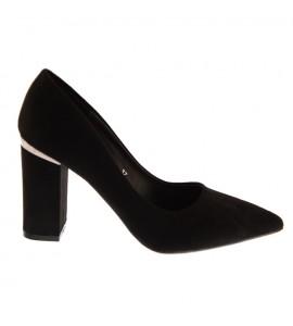Smart by envie γόβες μαύρο Block heels S31-10487-34