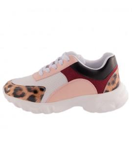 Mairiboo γυναικεία sneaker M15-10996 holo yolo mix Γυναικεια