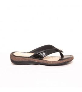 Parex Γυναικεία Σαγιονάρα Comfort 12221001.B Black Ανατομικα