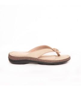Parex Γυναικεία Σαγιονάρα Comfort 12221001.E Beige Ανατομικα